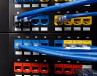 All our cabling work is undertaken on a minimum disruption basis